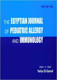 The Egyptian Journal of Pediatric Allergy and Immunology